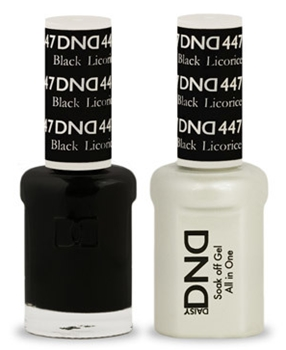 DND Gel Duo - Black Licorice