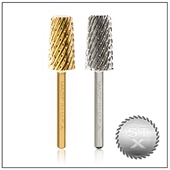 Extra Coarse 3-in-1 Available In: CARBIDE, SILVER OR GOLD 3/32 Or 1/8 SHANK SIZE